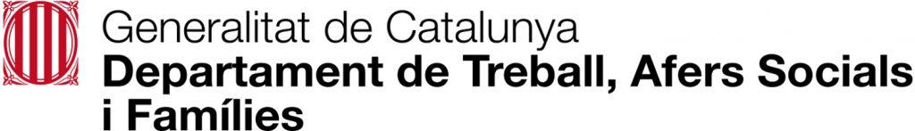 Logotip Departament de Treball, Afers Socials i Famílies de la Generalitat de Catalunya
