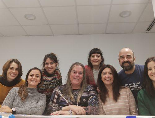 Visita de la Rosa Maria Maristany, presidenta de l'Associació TransBaixpower Roses De Sant Feliu