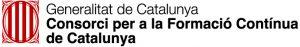 Logotip Consorci Per la Formació Contínua de Catalunay